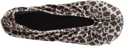 ISOTONER size One 9877H danse pour Cheetah Isotoner de homme Multicouleur Chaussures Tdw0U8q