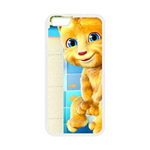 Talking Ginger, a cat iPhone 6 Plus 5.5 Inch Cell Phone Case White odp