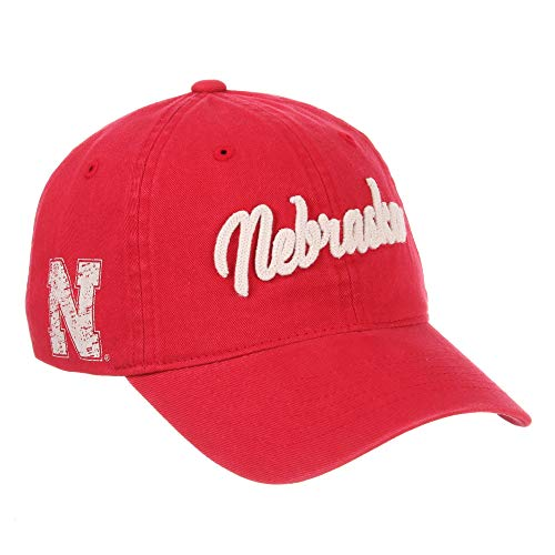 Nebraska Cornhuskers Official NCAA Scroll Adjustable Hat Cap by Zephyr 773413