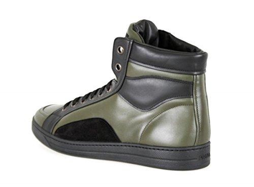 Prada Hombres 4t2724 6dx F0p80 Sneaker De Cuero
