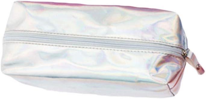 Viesky Fashion - Estuche holográfico para lápices y cosméticos con Cremallera: Amazon.es: Equipaje