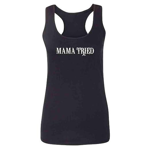 52e961c4e90c0 Amazon.com  Mama Tried Retro Country Womens Tank Top  Clothing
