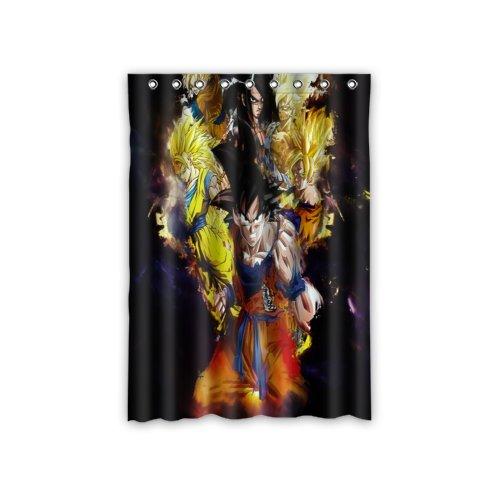 ScottShop Anime Dragon Ball Z Custom Window Curtains/drape/panels/treatment Comfort Polyester Fabric Bedroom Decor 52