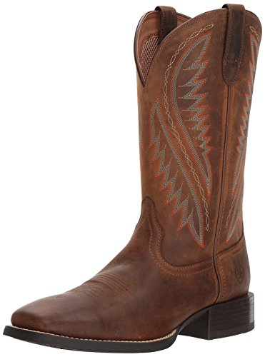 (ARIAT Men's Sport Stonewall Western Boot, Distressed Brown, 8.5 D US)