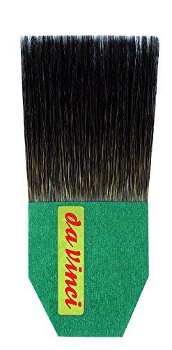 da Vinci Series 500 Gilder Tip Russian Blue Squirrel Hair Single Thickness Paintbrush, Size 40mm (500-40)