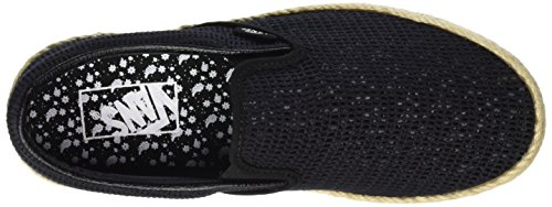 Vans Classic Slip-on Espadrille - Zapatillas Unisex adulto Negro (mesh/black)
