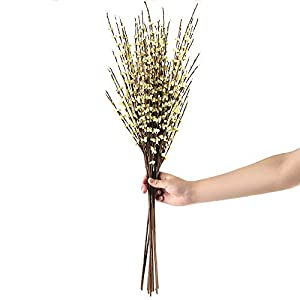 MARJON Flowers10 PCS Long of Jasmine Artificial Flower Artificial Flowers Fake Flower for Wedding Home Office Party Hotel Restaurant Patio or Yard Decoration 31