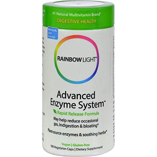 Rainbow Light Advanced Enzyme System 180 Vegetarian ()