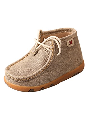 Twisted X Toddler-Boys' Dusty Driving Moc Brown 7 D ()