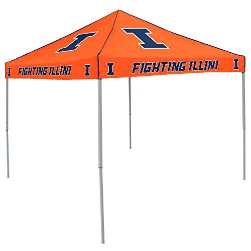 NCAA Illinois Fighting Illini 9-Foot x 9-Foot Tailgating Canopy, Orange