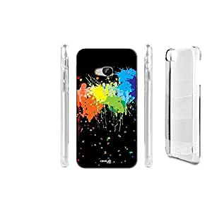 FUNDA CARCASA SPLAT ARCOBALENO PARA HTC ONE M9