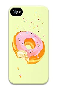 IMARTCASE iPhone 4S Case, Donuts PC Hard Plastic Case for Apple iPhone 4S and iPhone 4