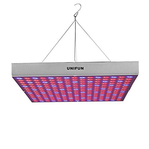 45W LED Grow Light, UNIFUN New Light Plant Bulbs Plant Growing Bulb for Hydroponic Aquatic Indoor Plants