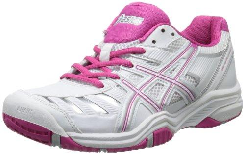 ASICS Women's Gel-Challenger 9 Tennis Shoe,White/Fuchsia/Silver,11 M US (Asics Gel Challenger)
