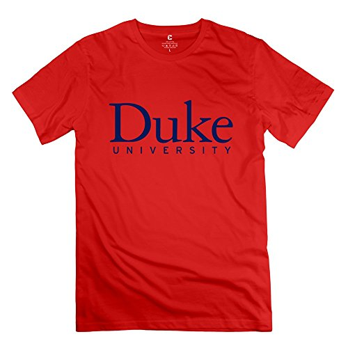 (Men's Duke University Logo Tshirt Size XS Red)