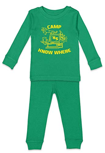 Kelly's Halloween Costume Office (HAASE UNLIMITED Camp Know Where - TV Show Parody Costume Infant/Toddler Pajama Set (Kelly Top/Kelly Bottoms, 18)