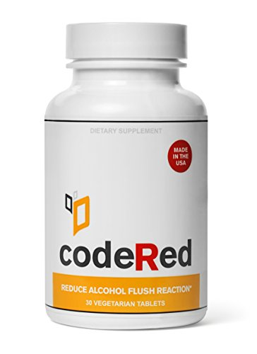 CodeRed Reduce Alcohol Flush Reaction, Aka Asian Glow, 15 Servings