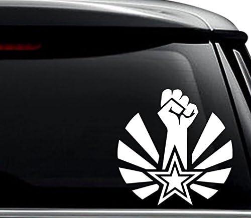 CCCP Red Star Decal Bumper Sticker Soviet Russian Russia Car Truck Vinyl