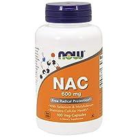 AHORA NAC 600 mg, 100 Cápsulas Veg