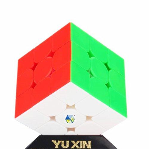 CuberSpeed YuXin HuangLong 3x3 stickerless Magic Cube YuXin HuangLong 3X3X3 Speed Cube