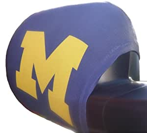 Licensed University of Michigan Automotive Mirror Sock