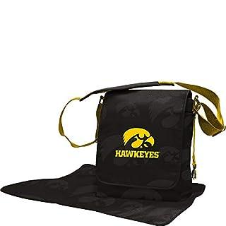Lil Fan Diaper Messenger Bag, NCAA College Iowa Hawkeyes