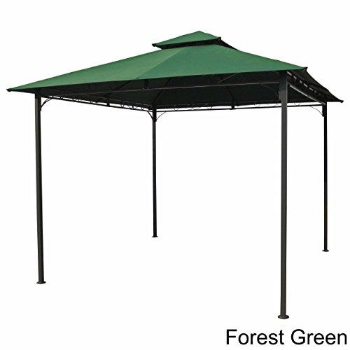 International Caravan Hamilton Outdoor Canopy Gazebo in Forest Green