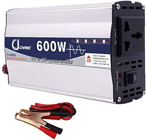 Met lcx Inversor De Energía Portátil para Automóvil, DC 12V / 24V ...