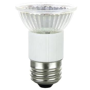 Sunlite 50MR16/FL/MED/120V 50-Watt Halogen MR16 Medium Based Mini Reflector Bulb