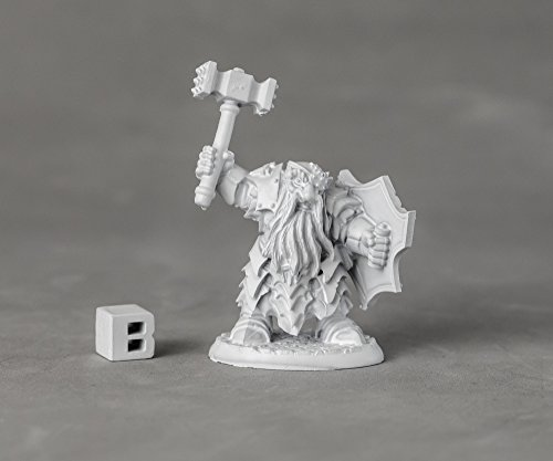 Reaper Miniatures 03892 Dark Dwarf Striker, Metal Miniatures, used for sale  Delivered anywhere in USA