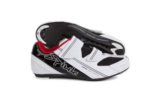 Spiuk Uhra Road - Zapatilla de ciclismo unisex Blanco / Negro