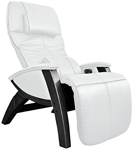 Svago Zero Gravity Recliner - Ivory Sinfully Soft Premium Leather