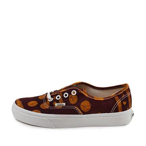 Vans Authentic (Della) Batik Geo Unisex Skateboard Schuhe (Della) Batik Geo