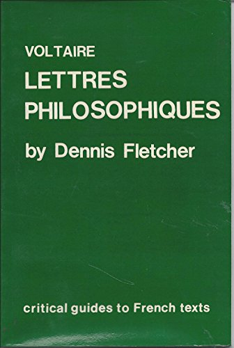 Voltaire: Lettres Philosophiques (Critical Guides to French Texts)