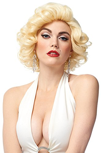 Blonde Bombshell Wig Costume Accessory (Blonde Starlet Wig)
