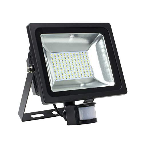 Foco Proyector LED SMD con Detector de Movimiento PIR 50W 120lm/W efectoLED: Amazon.es: Iluminación