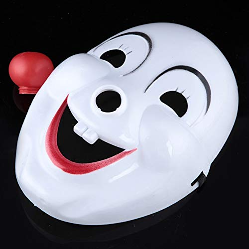Party Masks - Halloween Ghost Mask Makeup Dance Face Festival Funny Clown Dress Up Pvc - Mask Clown Halloween Face Ghost Dance Masks Party Masks Mask Makeup Paint Horror With Skull Liquid Primer