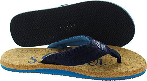 s.Oliver  5-17206-38, Sandales pour homme bleu bleu