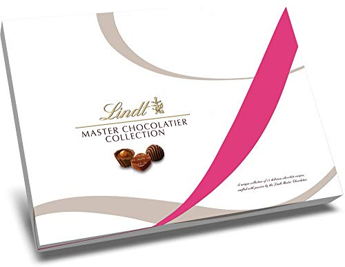 - Lindt LINDOR Master Chocolatier Gift Box, Assorted Chocolates, 10.8 Ounce