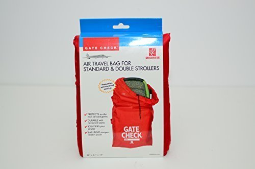 Gate Check Travel Bag for Standard & Double Strollers