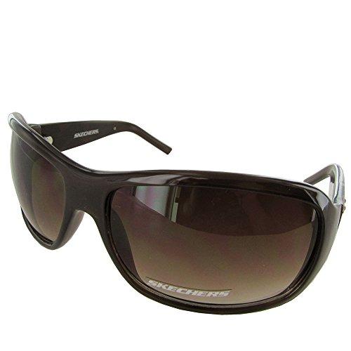 Skechers Women's 4024 Floral Fashion Sunglasses - Medium - Purple - Skechers Sunglasses