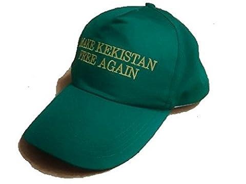 Make Kekistan Free Again - Adjustable snapback cotton baseball cap (Free Make Y)