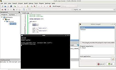 C C++ and Fortran Windows Programming IDE Code Blocks PC Computer Software