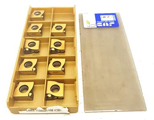 Iscar LNMX 110408R-HM Hartmetall-Einsätze IC807 Tangenitalspitzen #I1, 9 Stück