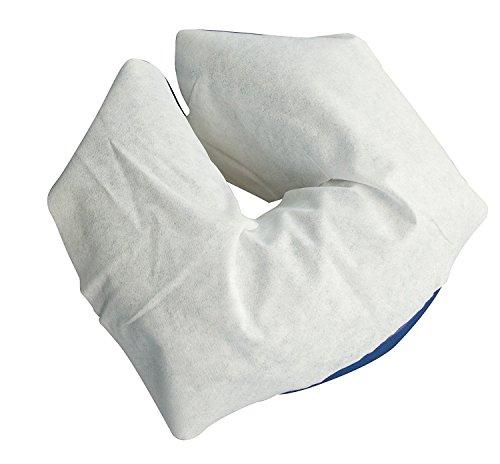 TINTON LIFE 11''-13.78'' Disposable Massage Spa Salon Soft Headrest Face Rest Pillow Cradle Covers (200 count) by TINTON LIFE