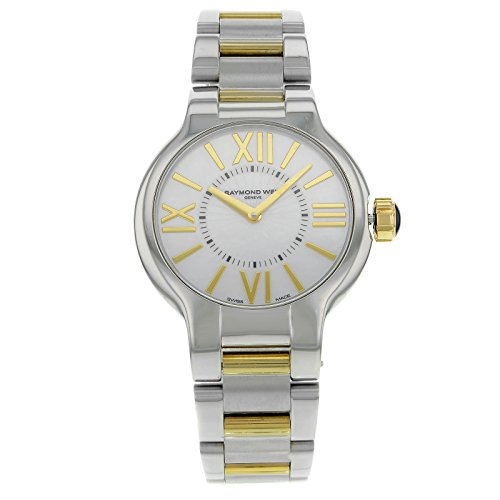 raymond-weil-womens-5932-stp-00907-noemia-32-mm-two-tone-mother-of-pearl-dial-watch