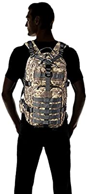 Gelindo Military Tactical Backpack, Hydration Backpack, Army Molle Bug-out Bag, Small Rucksack for Hunting, Survival, Camping, Trekking, School, 35L by Gelindo