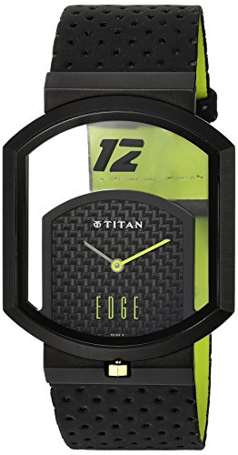 titan men s edge sport ultra slim unique shape watch