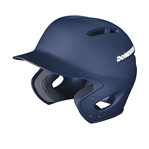 DeMarini Paradox Fitted Pro Batting Helmet, Navy, Extra Large (7 5/8 - 7 3/4) (Pro Helmet Batting)