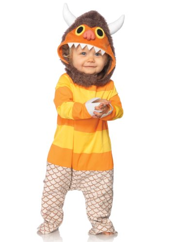 ere The Wild Things Are Carol Costume, Brown/Orange, 18-24 Months ()